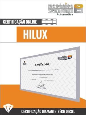 Certificação Motor Hilux