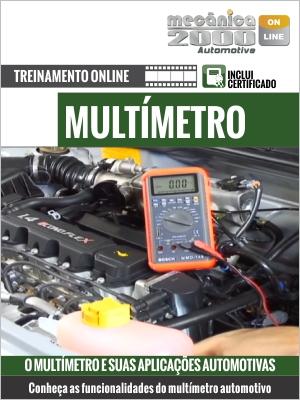 O uso do multímetro para medições elétricas