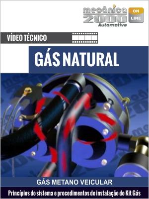 Instalação do kit gás