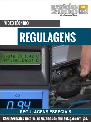 Regulagens da injeção e da ignição eletrônica