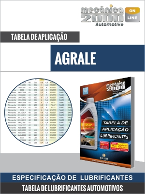 Tabela Lubrificante AGRALE