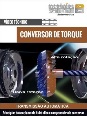 Como funciona o conversor de torque e seus componentes