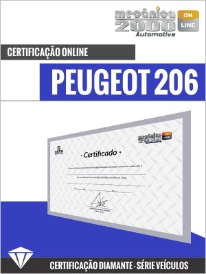 Certificação Peugeot 206