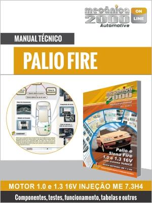 Palio Fire 1.0, 1.3 16V